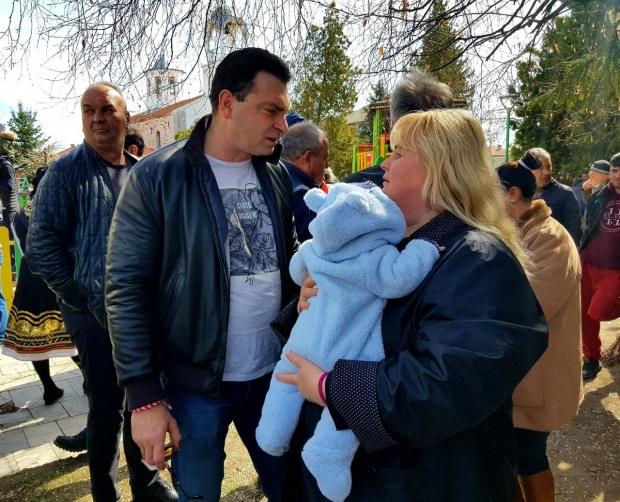 На Тодоровден Калоян Паргов гостува в село Мрамор