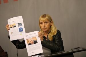 Снимка: Йончева: Пред Европейския съюз правителството на Борисов има лице на корупцията