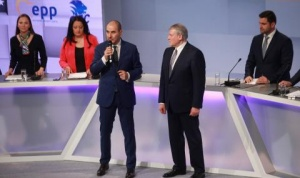 ГЕРБ и СДС представиха платформата за евроизборите