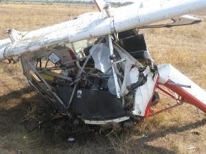 Малък самолет се разби в Пловдивско. В резултат на катастрофата