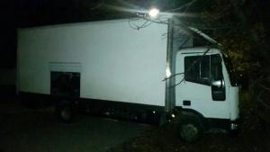 Снимка: Хванаха край Солун краден БГ камион пълен с мигранти