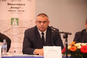 Снимка: Георги Терзийски: Ремонтът на тунела на Околовръстния път на Ловеч  ще завърши през юни, както е по договор