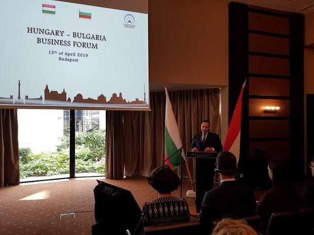 Караниколов: През 2018 г. двустранният стокообмен между  България и Унгария е с ръст от 5.3%