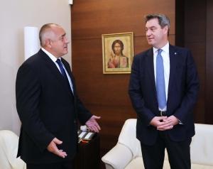 Подкрепяме България за Шенген, заяви премиерът на Бавария Маркус Зьодер