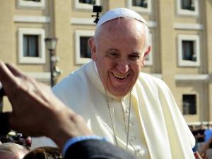 Папа Франциск отслужи Света литургия в Раквски. Литургията се проведе
