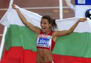 Само ден след като навърши 35 години, най-добрата българска спринтьорка