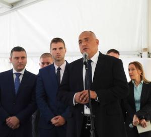 Премиерът Бойко Борисов даде официален старт на строежа на обхода