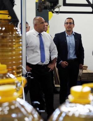 Министър-председателят Бойко Борисов посрещна гръцкия премиер Алексис Ципрас в Кирково,