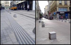 """Некачествените участъци по столичната улица """"Граф Игнатиев"""" няма да бъдат"""