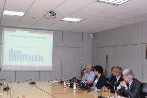 Министърът на околната среда и водитеНено Димов участва в представянето