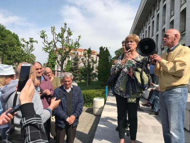 Протест за справедливо наказание за шофьора, убил балетист във Варна