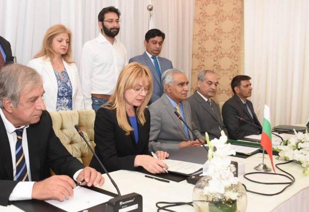 Лилия Иванова: Двустранната търговия между България и Пакистан възлиза на 34 млн. щ.д. за 2018 г.