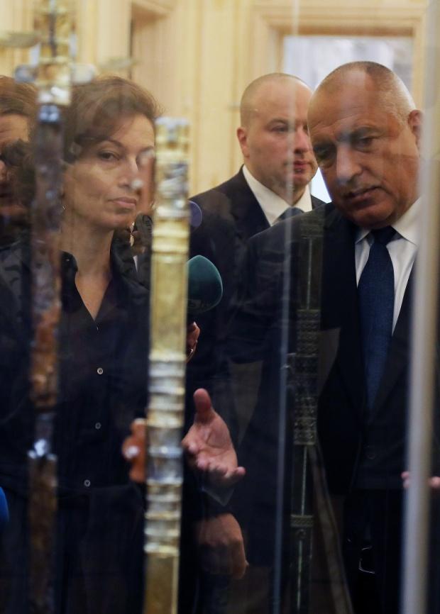 В Националната галерия вече е изложен мечът на хан Кубрат и други български реликви