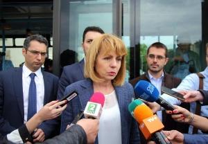 Кметът на София Йорданка Фандъкова провери изграждането на детска градина