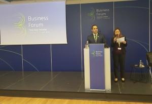 """Министърът на икономиката Емил Караниколов откри Бизнес форум """"Три морета"""""""