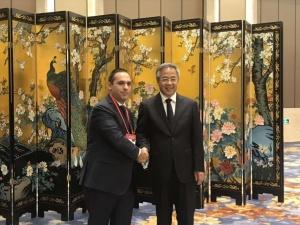 Министърът на икономиката Емил Караниколов се срещна вицепремиера на Китай