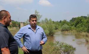 Областният управител на област Русе Галин Григоров заедно с кмета