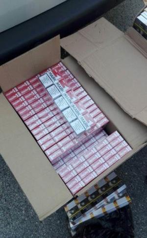 Близо 8 000 къса цигари без бандерол са иззети при