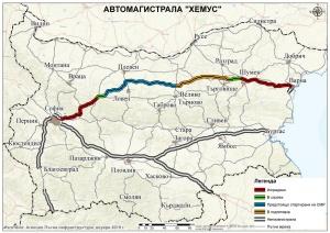 от 10 ч. до 15 ч. движението за Варна в
