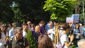 """""""Тук съм по покана на """"Обединена София срещу презастрояването"""" и"""