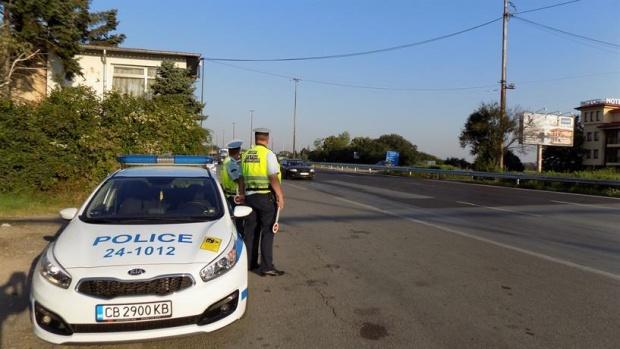 """""""Пътна полиция"""" провери 20 807 водачи за седмица"""