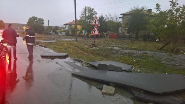 Започва описването на щетите вследствие на прелелия язовир в Търновско