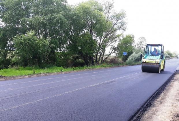 """Приключва ремонтът на пътните връзки на п. в. """"Цалапица"""" при  112-ти км на АМ """"Тракия"""""""