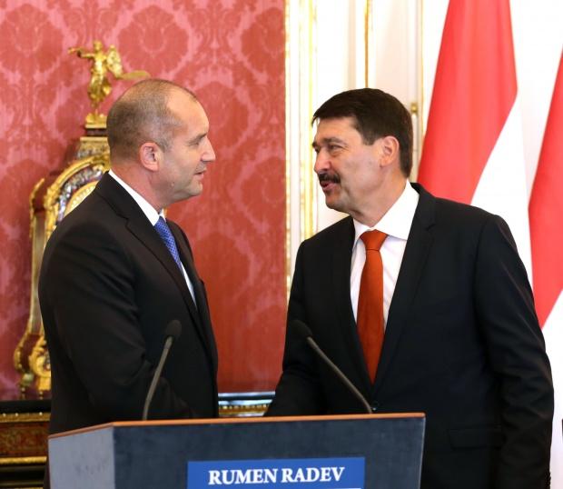 Радев: Икономическото и социално сближаване между Източна и Западна Европа е залог за единството и дееспособността на Европейския съюз