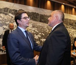 Министър-председателят Бойко Борисов проведе двустранна среща с президента на Република