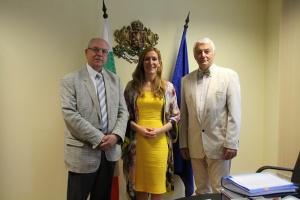 Министърът на туризма Николина Ангелкова проведе работна среща с председателя