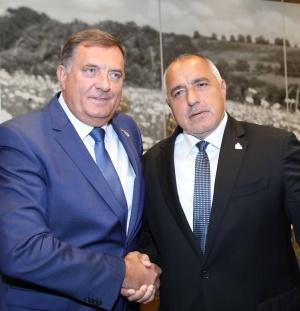 Министър-председателят Бойко Борисов и председателят на Председателството на Босна и