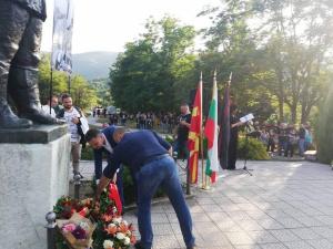 Снимка: По традиция от ВМРО честваха в Смилево годишнината от Илинденското въстание