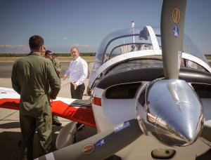 Румен Радев посети в рамките на държавното си посещение в