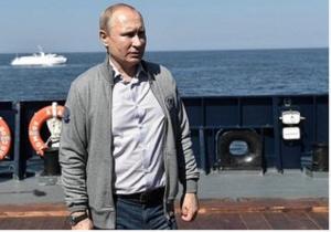 Руският президент Владимир Путин заяви, че Военноморският флот на страната