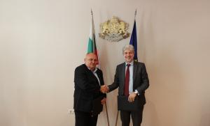 Министърът на околната среда и водите Нено Димов и д-р