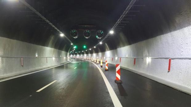 """Движението в тунел """"Топли дол"""" днес в изпреварващата лента"""