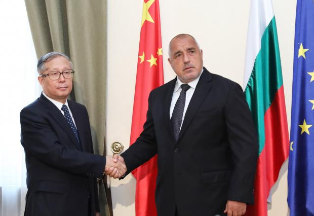 Бойко Борисов проведе среща с делегация  от Китай