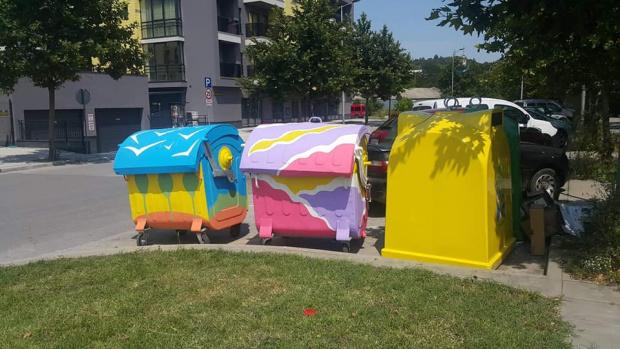 Нови шарени контейнери се появиха в Пловдив