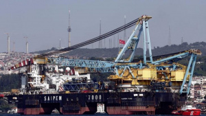 """Строителството на приемния терминал за морския газопровод """"Турски поток"""" е"""