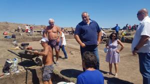 """Премиерът Бойко Борисов инспектира как върви строителството на автомагистрала Хемус"""""""