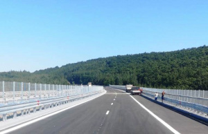 """Участъткът от автомагистрала Хемус"""" на 410 км след Девня е"""