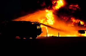 Снимка: 8 души са загинали при пожар в хотел в Одеса