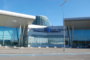 МВР проверява съмнителен багаж на Терминал 1 на Летище София.Сигналът