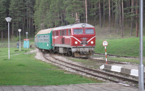 """Днес няма да се движат пътнически влак """"Родопи"""" № 16103"""