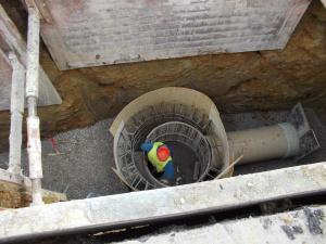 Приключи третият етап от изграждането на канализация в столичния квартал