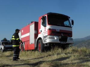 Екстремален индекс за опасност от пожари е в сила в