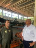 "Борисов отиде до авиобаза ""Безмер"", обеща скорошен ремонт на Су-25"
