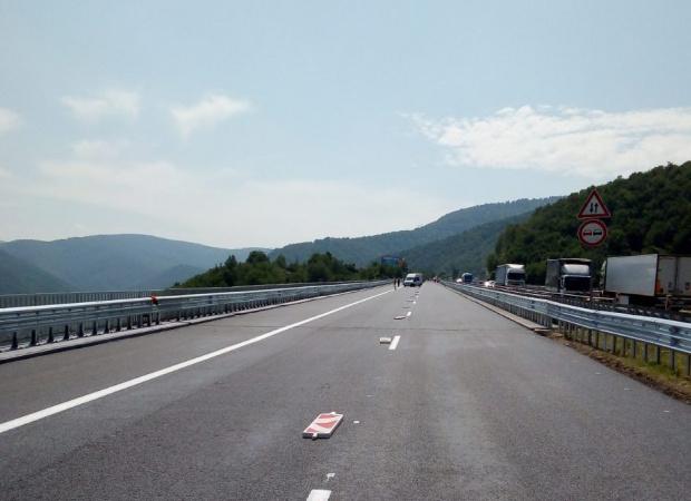 АПИ: Днес и утре шофьорите да карат внимателно по път I-1  Перник – София