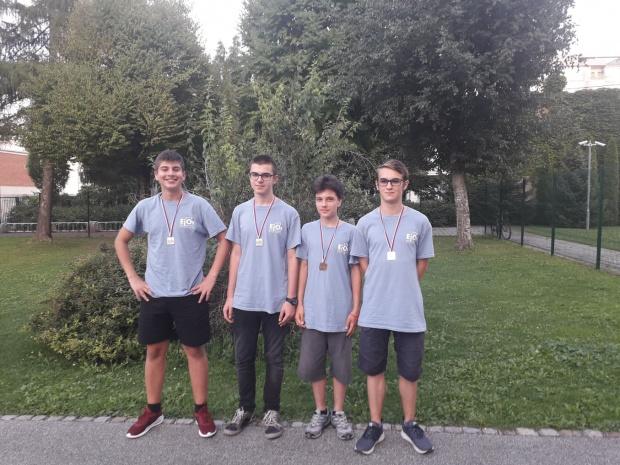 Наши ученици взеха 4 медала от Евроолимпиадата по информатика