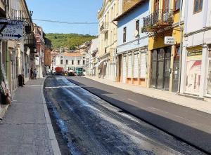 Започна цялостното преасфалтирана на две основни улици във Велико Търново,